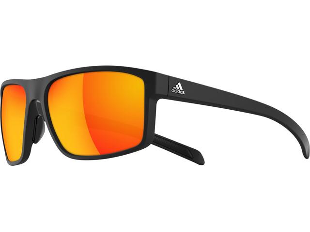 adidas Whipstart Okulary rowerowe Mężczyźni Red Mirrored czerwony/czarny